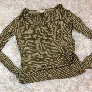 Michael Kors Long Sleeved Top size petite small